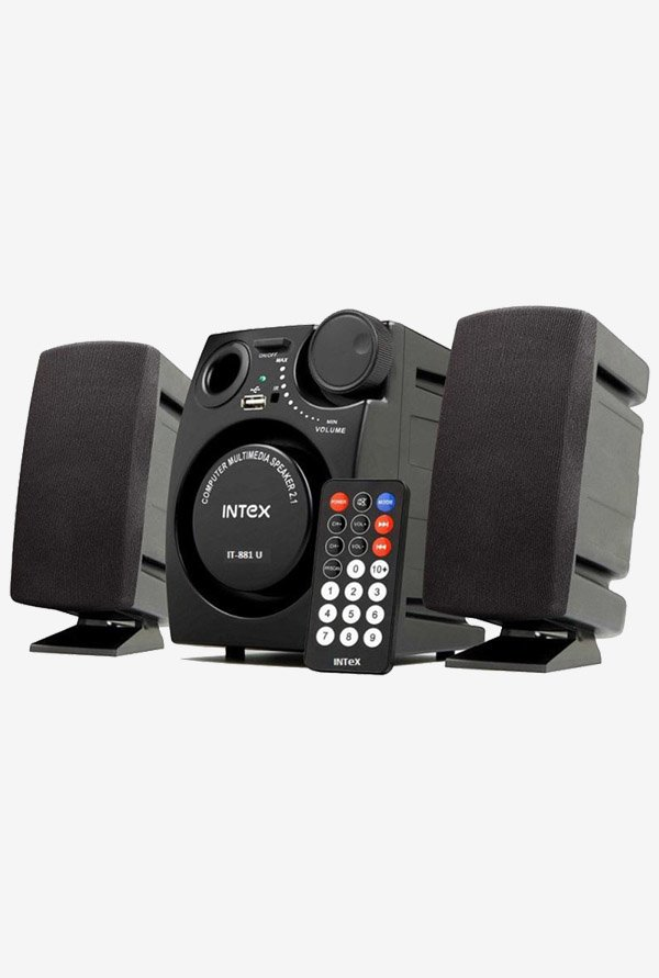 Intex IT 881U 2.1 Computer Speaker (Black)