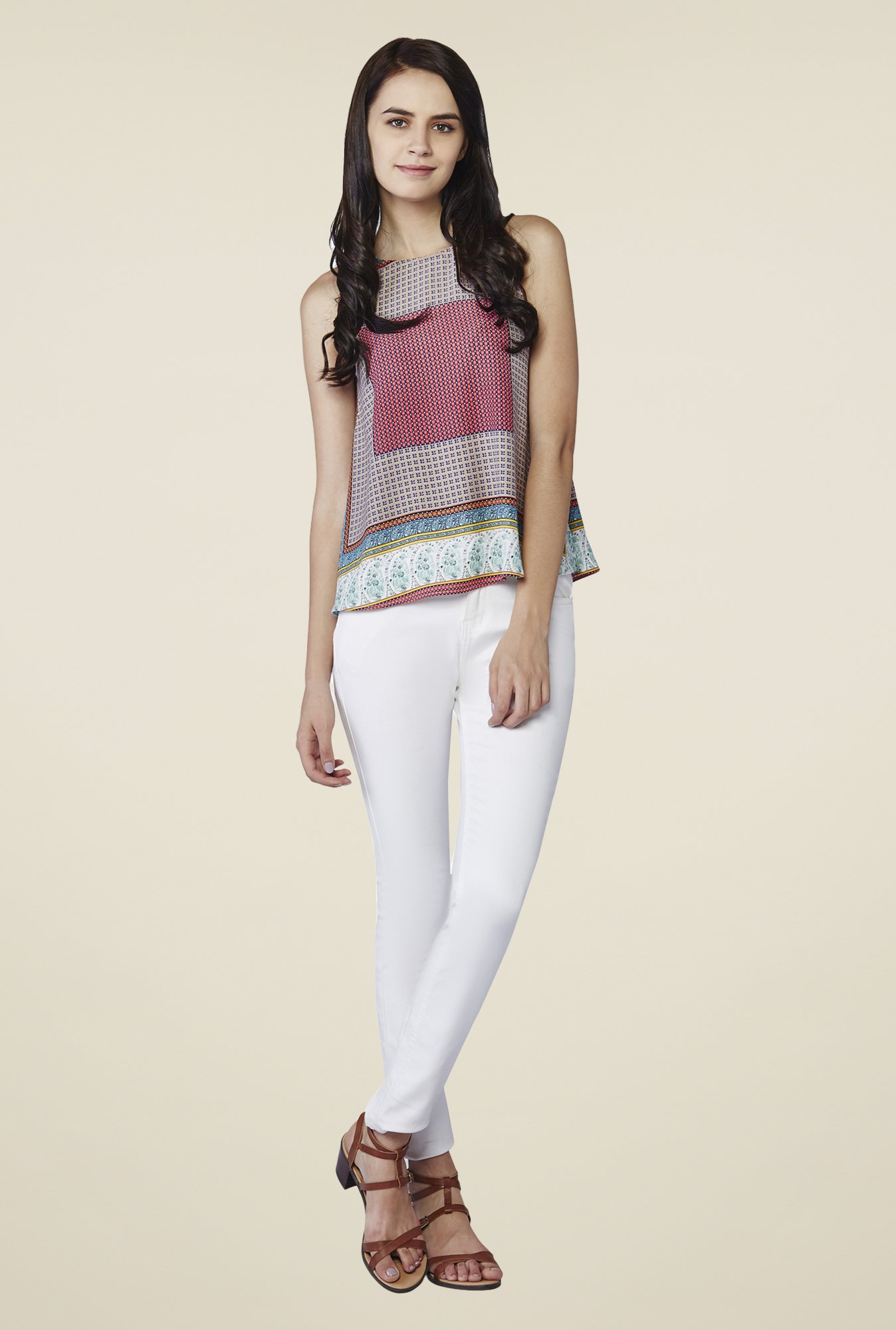 AND Multicolor Florence Printed Top