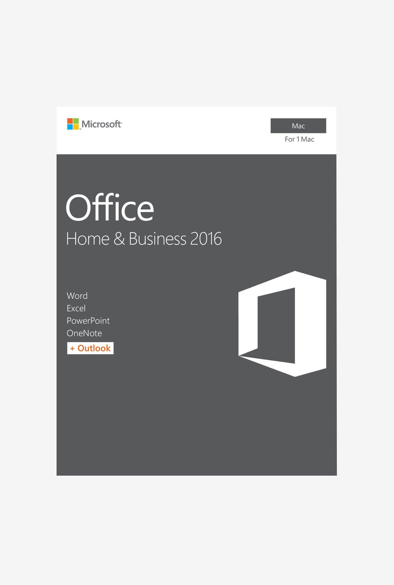 Microsoft Office Home & Business 2016 P2 for Mac with One Drive