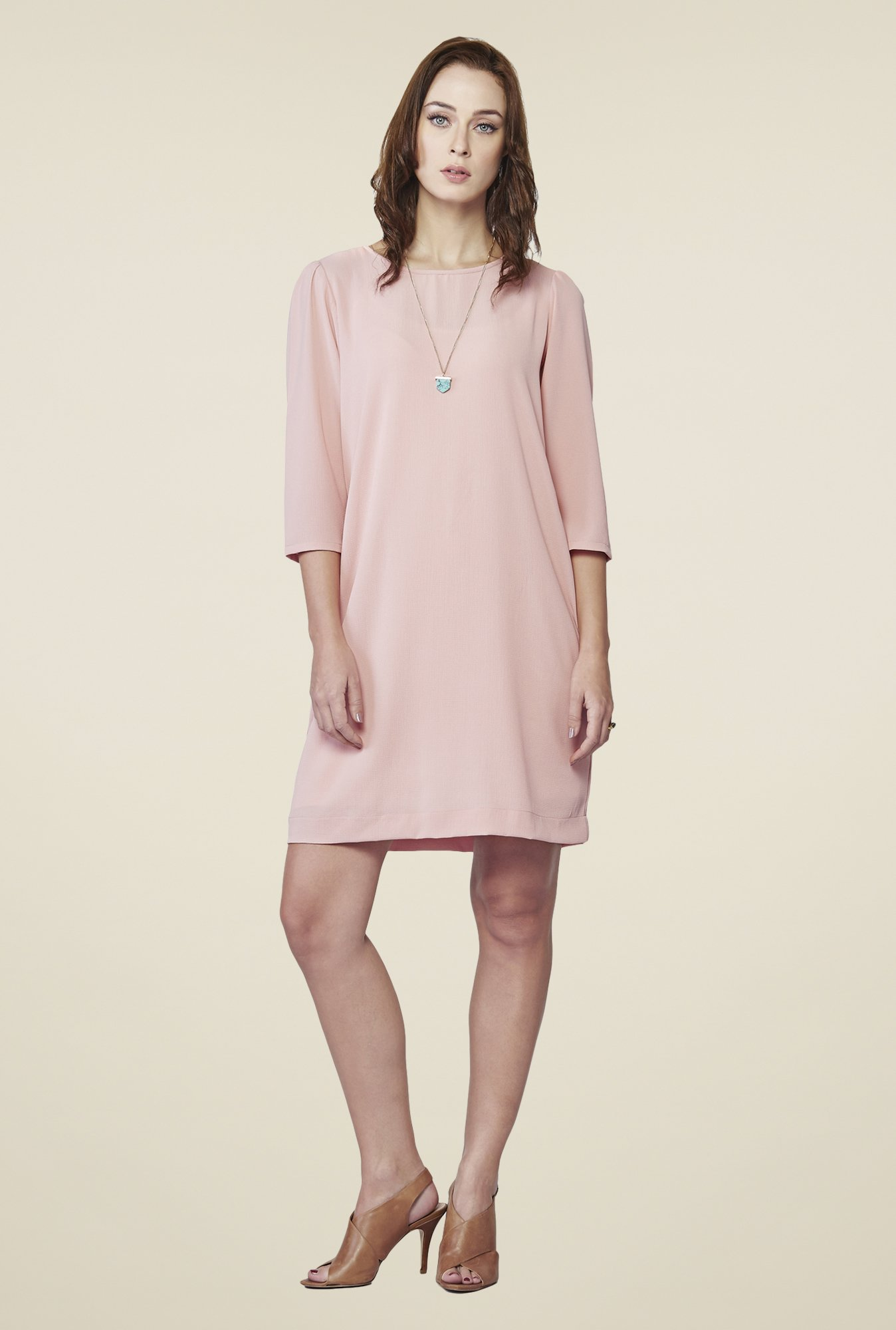 AND Pink Blush Shift Dress