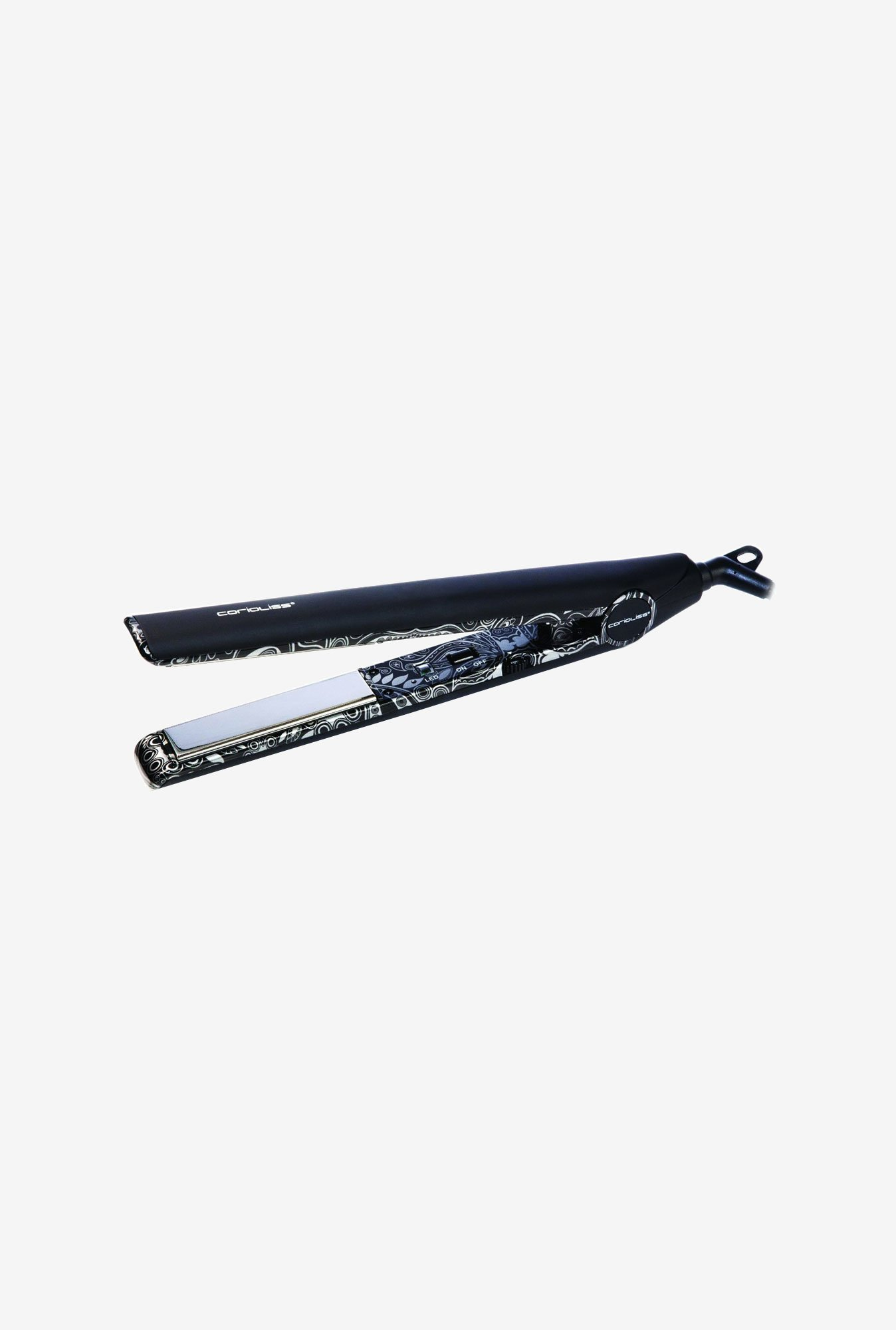 Corioliss C1 Professional Hair Straightener (Silver Paisely)