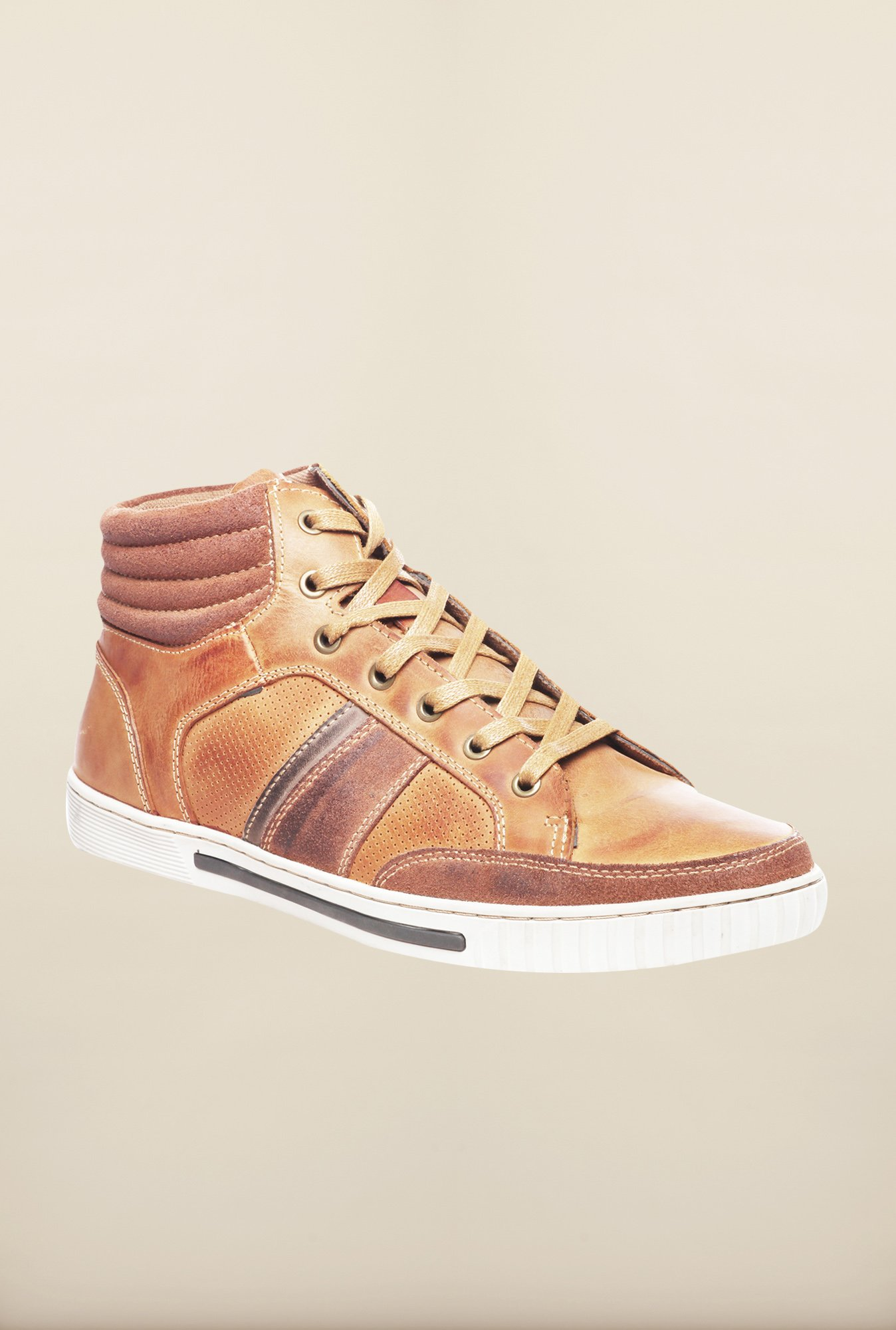 Pavers England Tan Casual Sneakers