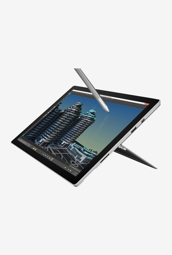 Microsoft Surface Pro 4 39.62cm Laptop(Core i5,128GB) Silver