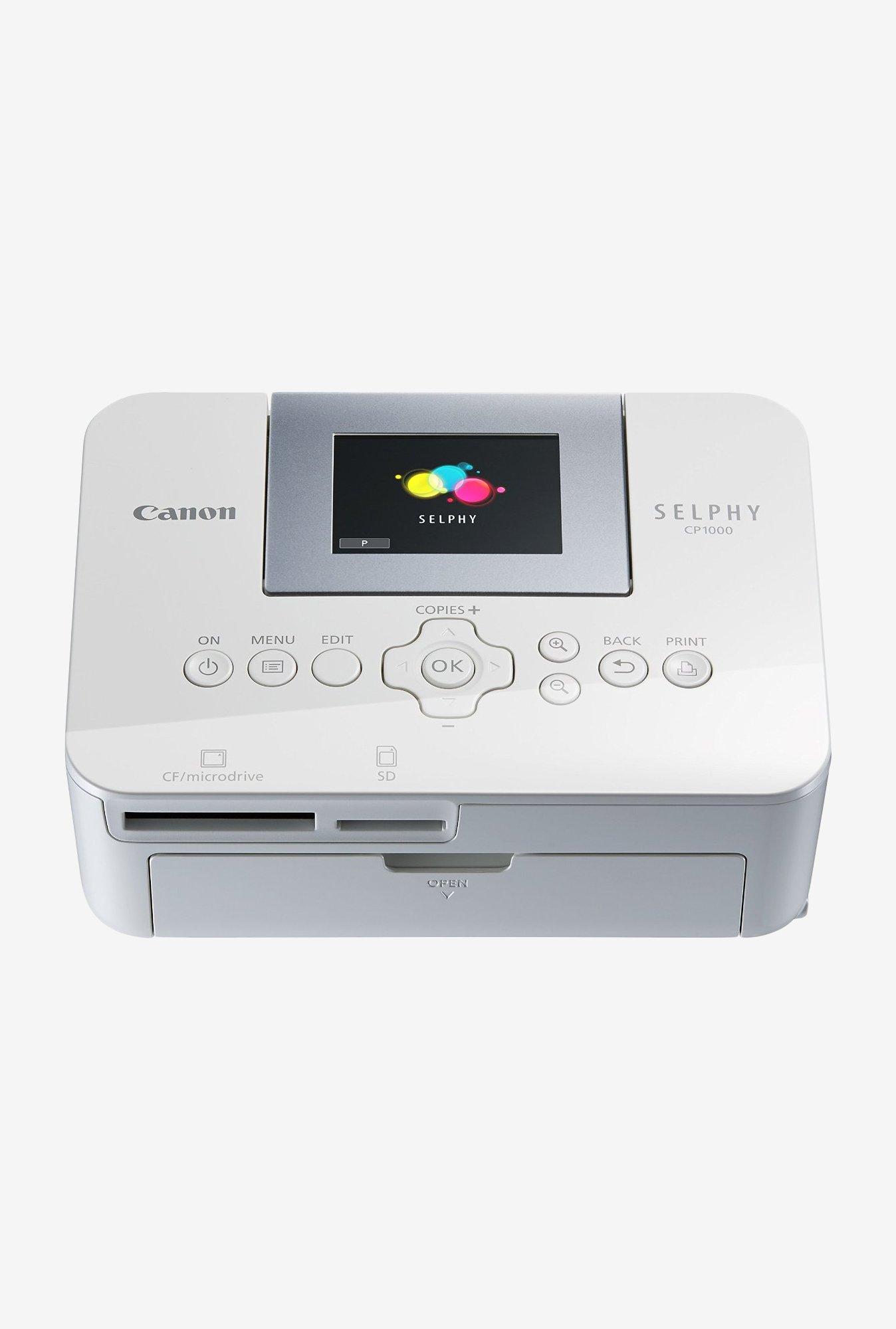 Canon Selphy CP1000 Photo Printer (white)