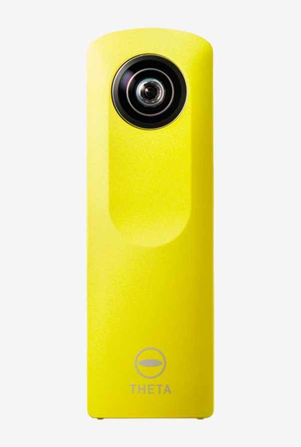RICOH Theta M15 Point & Shoot Camera (Yellow)