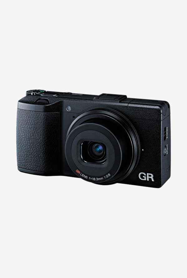 RICOH GR Point & Shoot Camera (Black)