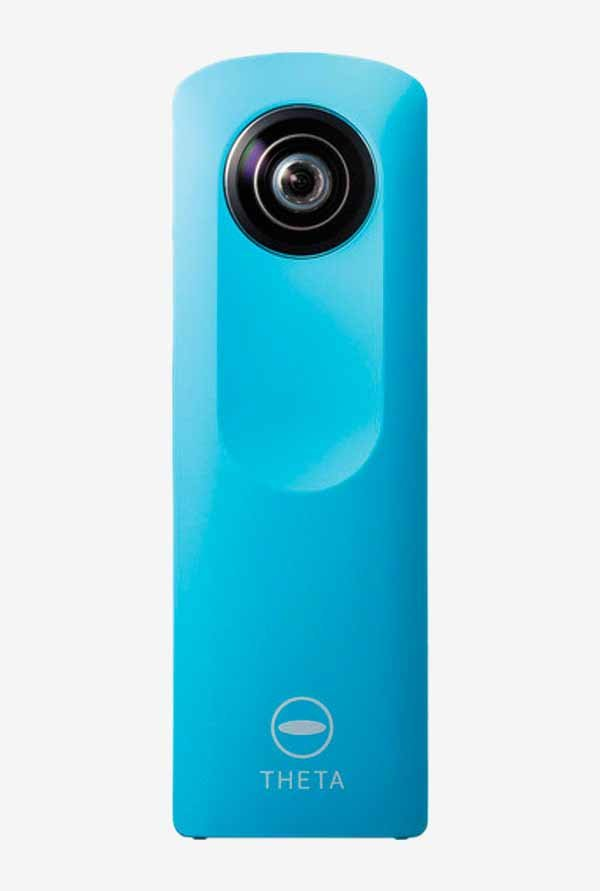 RICOH Theta M15 Point & Shoot Camera (Blue)