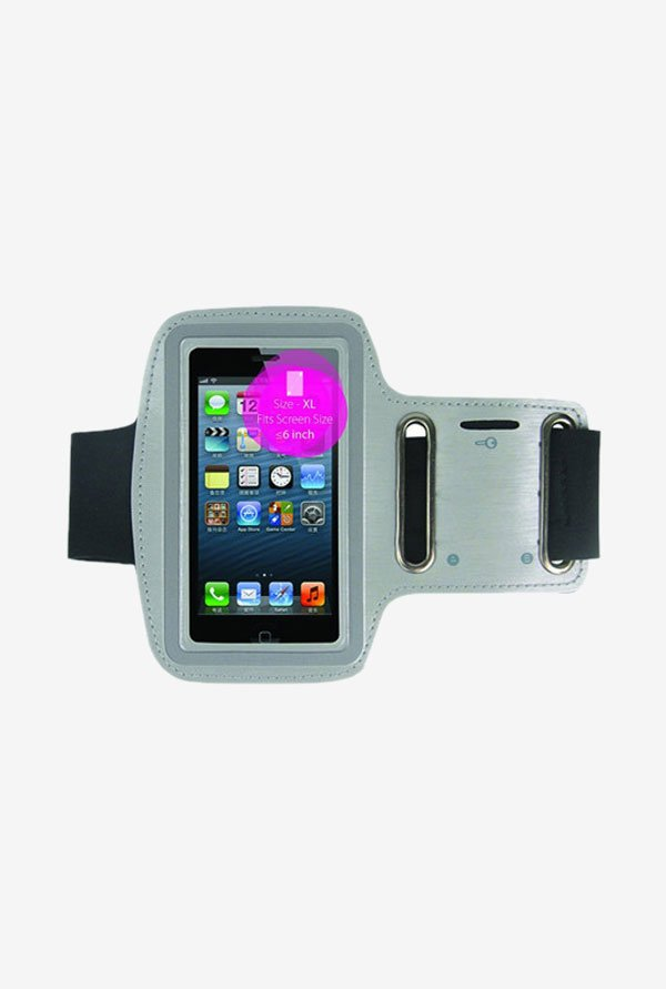 "Noise Arm Band Case for Smart Phones (4.5"" to 5"") (Grey)"