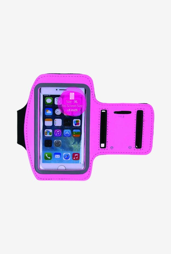 "Noise Arm Band Case for Smart Phones (4.5"" to 5"") (Pink)"