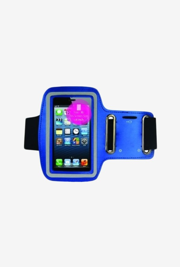 "Noise Arm Band Case for Smart Phones (5.1"" to 6.2"") (Blue)"