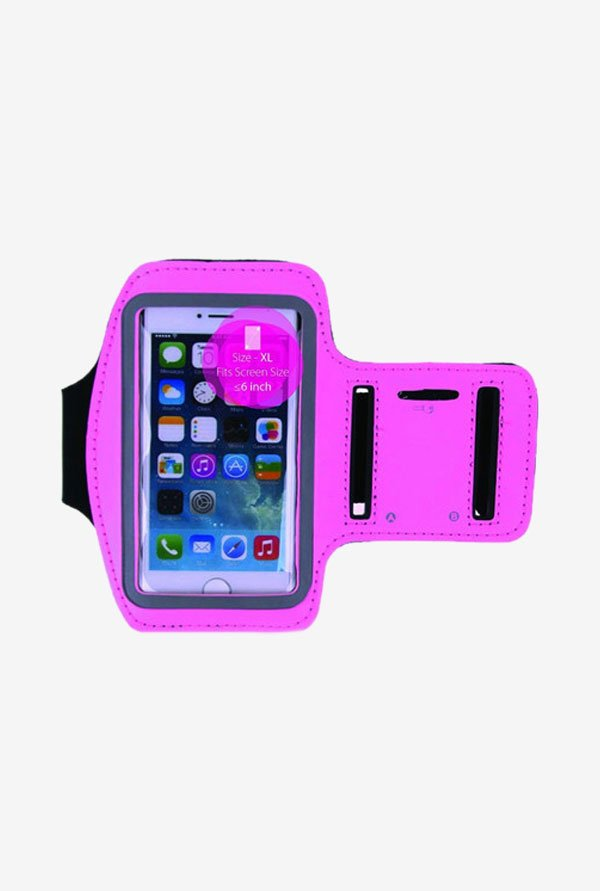 "Noise Arm Band Case for Smart Phones (upto 4.5"") (Pink)"