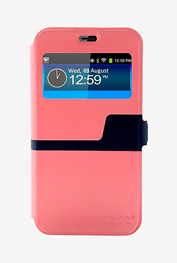 Noise Flip Cover for Huawei Ascend Y336 (Pink)