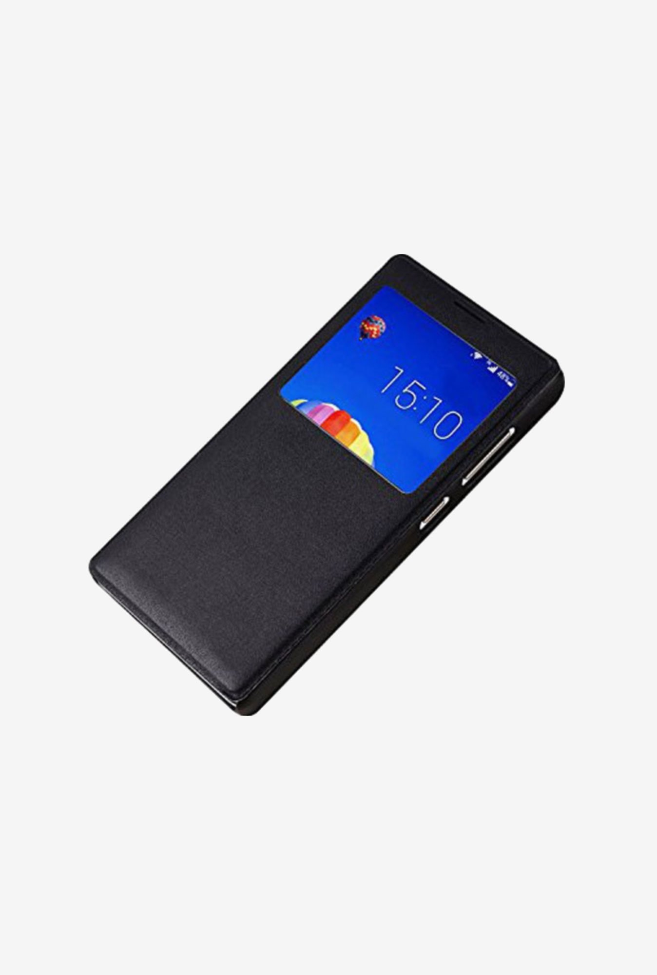Noise Flip Cover for Huawei Honor 3C (Black)