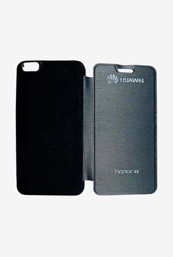 Noise Flip Cover for Huawei Honor 4X (Black)