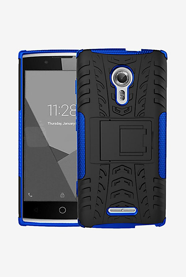 Noise Hybrid Back Case for Alcatel Flash 2 (Blue)