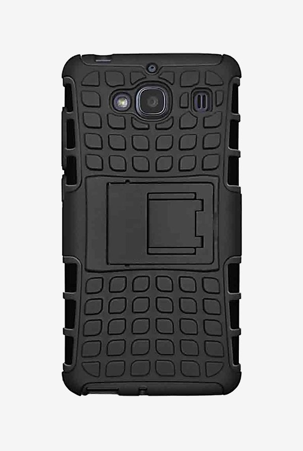 Noise Hybrid Back Case for Xiaomi Redmi 2 (Black)
