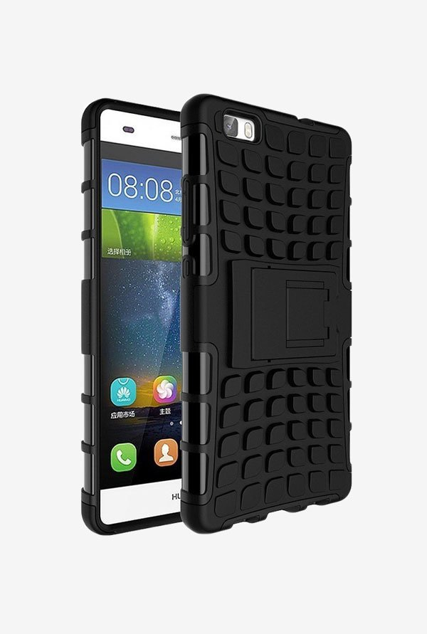 Noise Hybrid Back Case for Huawei P8lite (Black)