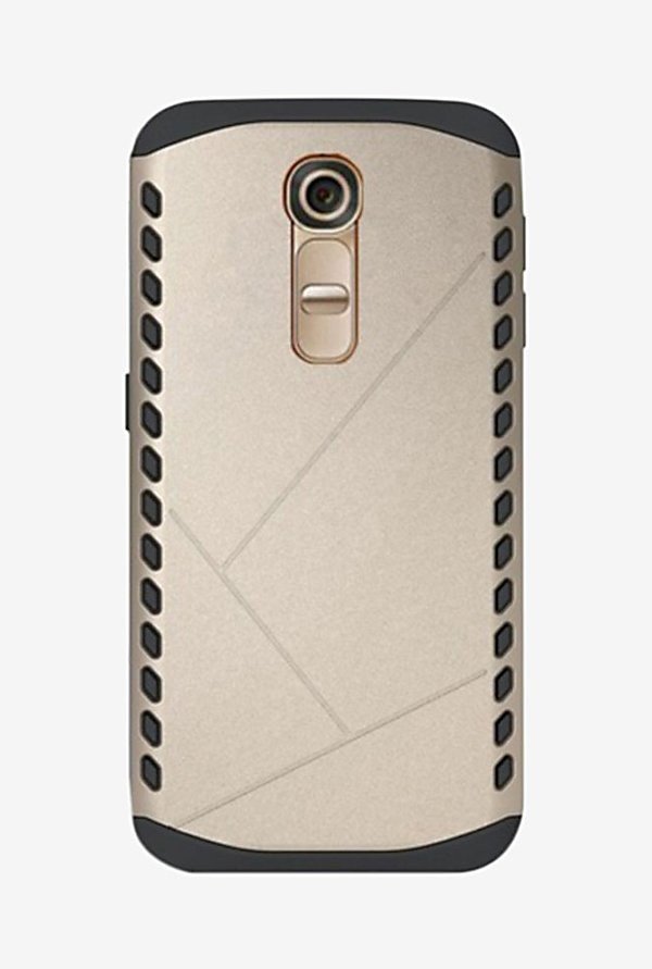 Noise Shield Back Case for LG G4 (Gold)