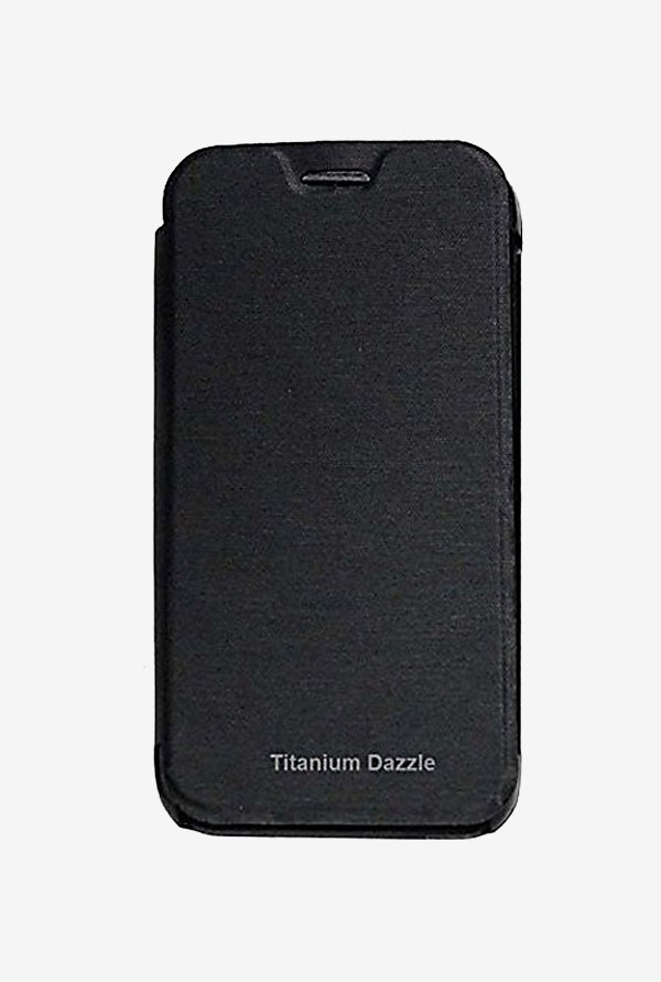 Noise Flip Cover for Karbonn Titanium Dazzle (Black)