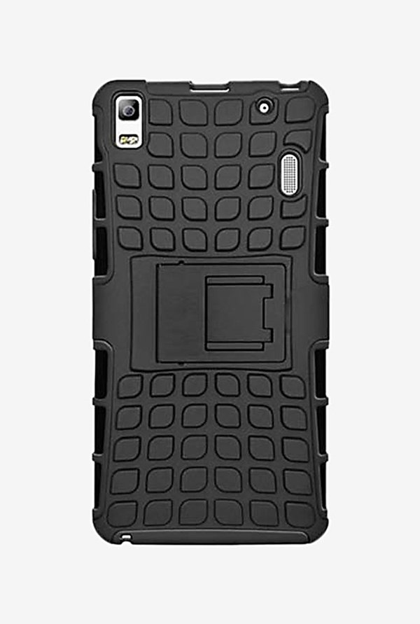 Noise Hybrid Back Case for Lenovo A7000 (Black)