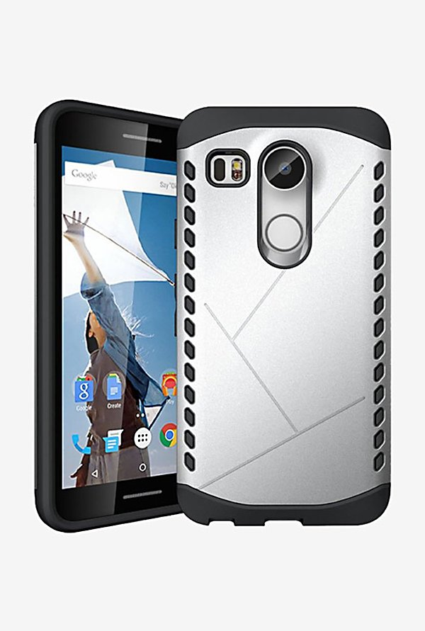 Noise Shield Back Case for LG Nexus 5X (Silver)
