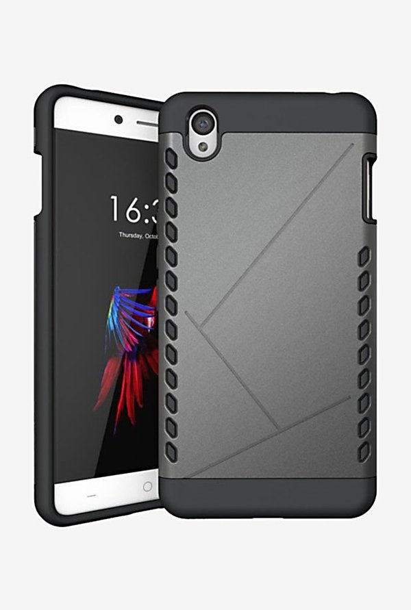 Noise Shield Back Case for OnePlus X (Grey)