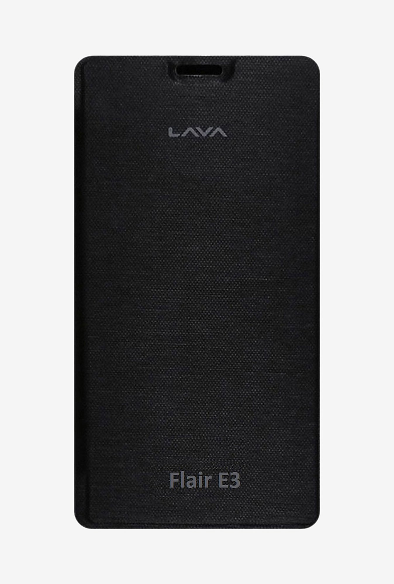 Noise Flip Cover for Lava Flair E3 (Black)