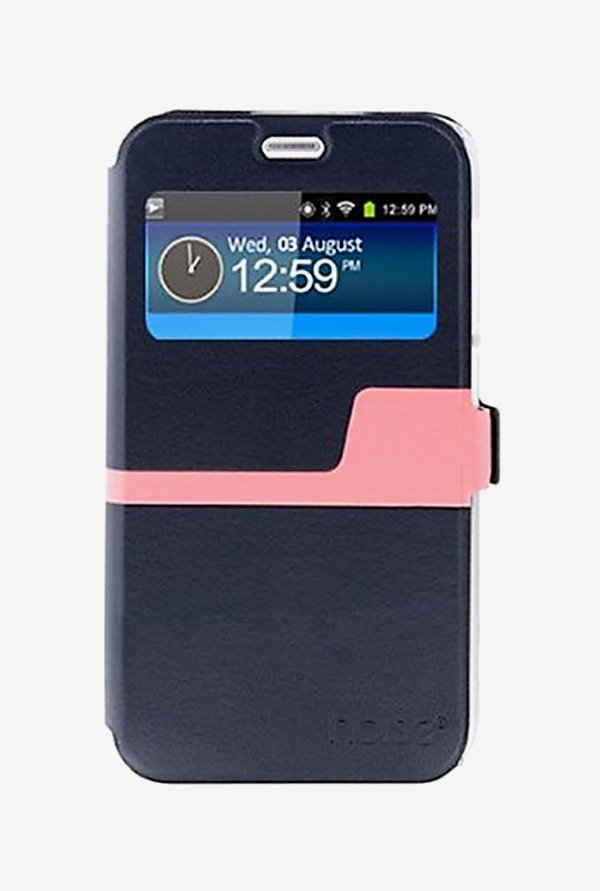Noise Flip Cover for Samsung Galaxy S6 Active (Blue)