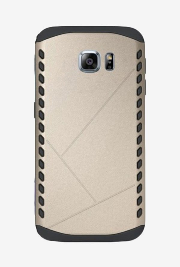 Noise Shield Back Case for Samsung Galaxy S6 Edge+ (Gold)