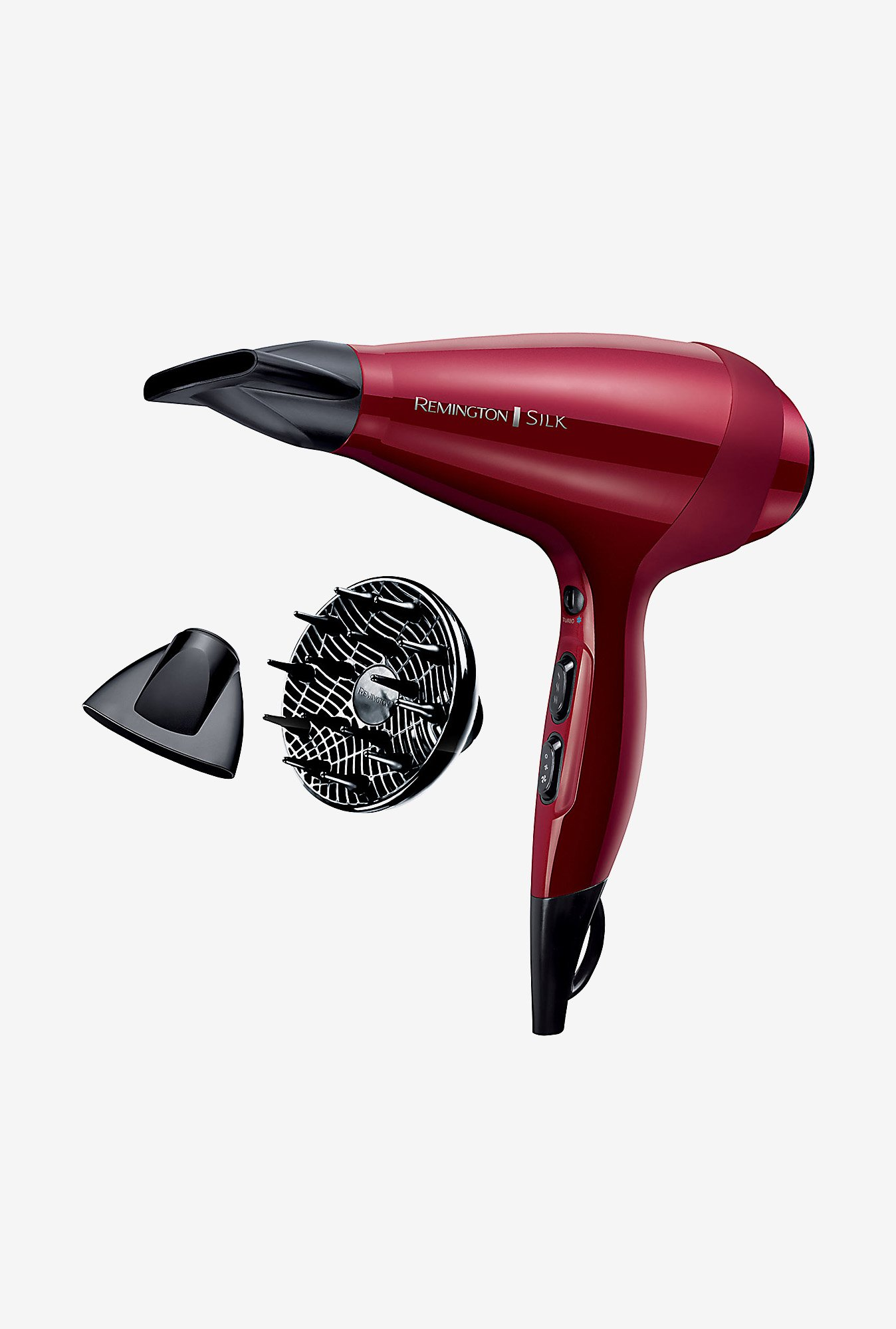Remington Silk AC9096 1875 Watt Hair Dryer (Red)