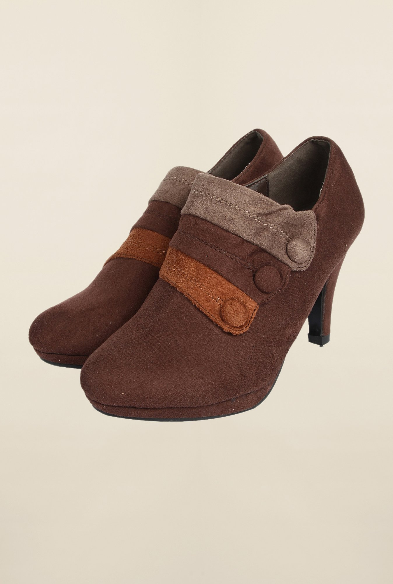 Cobblerz Brown Casual Stilettos