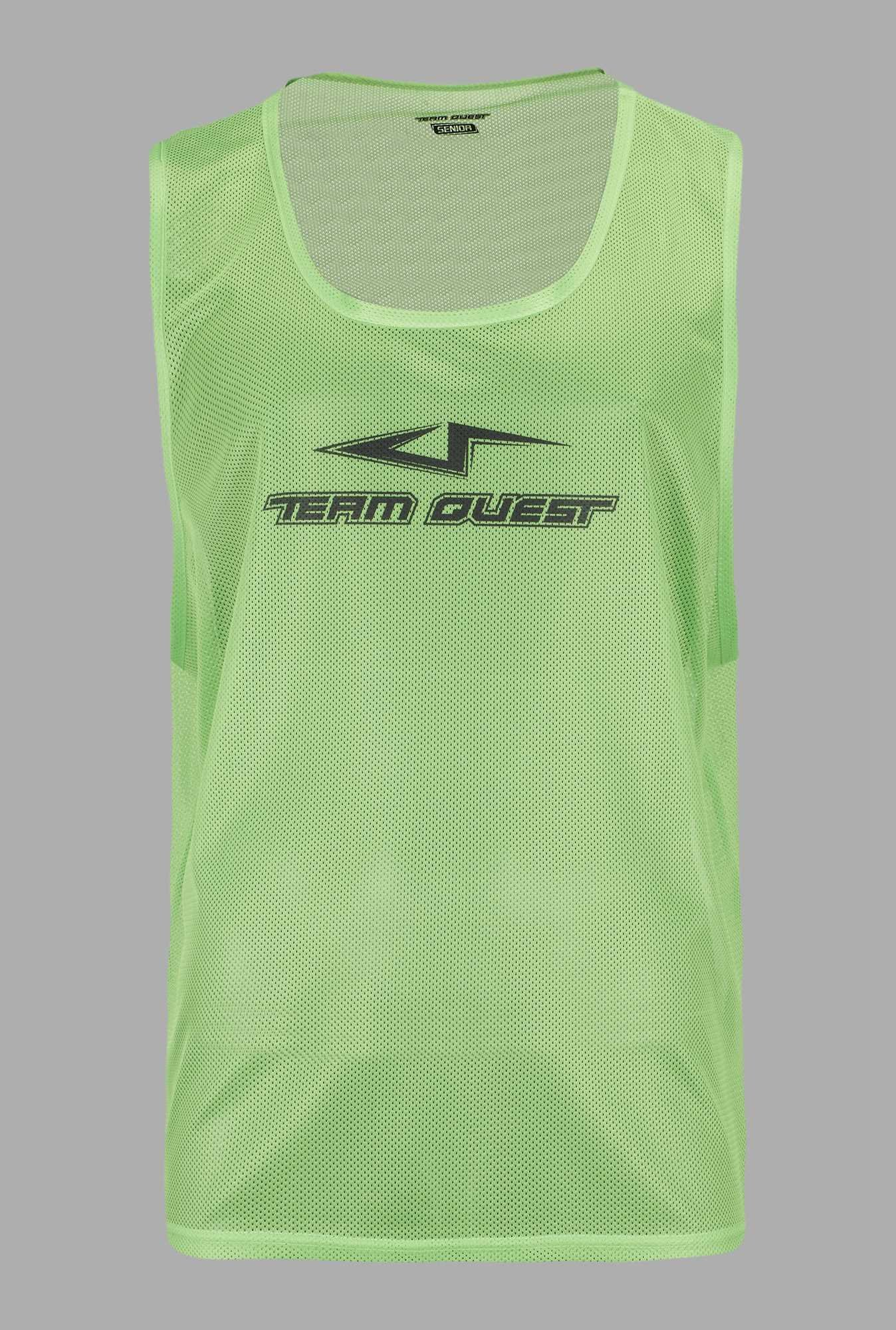 Team Quest Lime U Neck Football Vest
