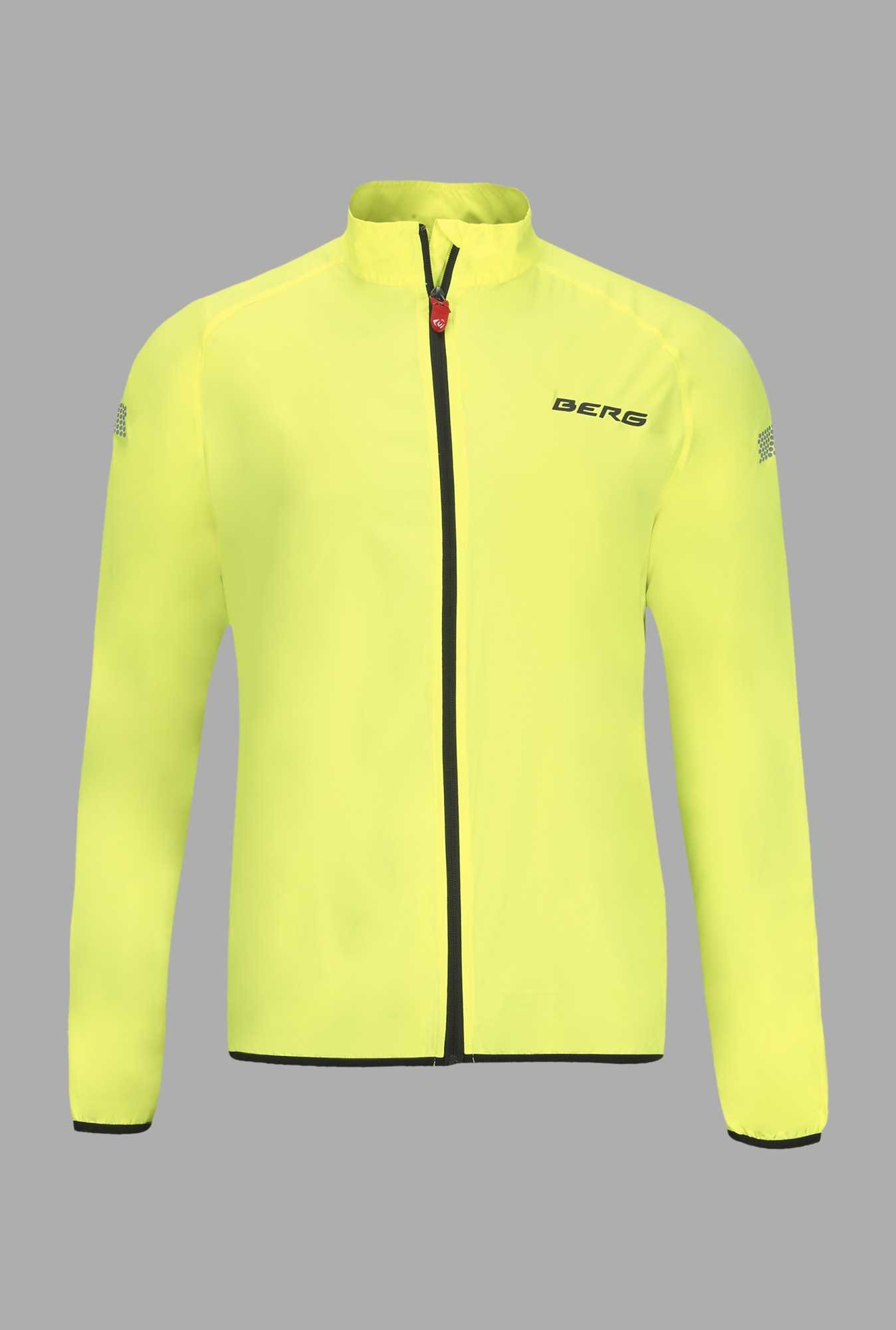 Berg Lime Solid Cycling Windjacket