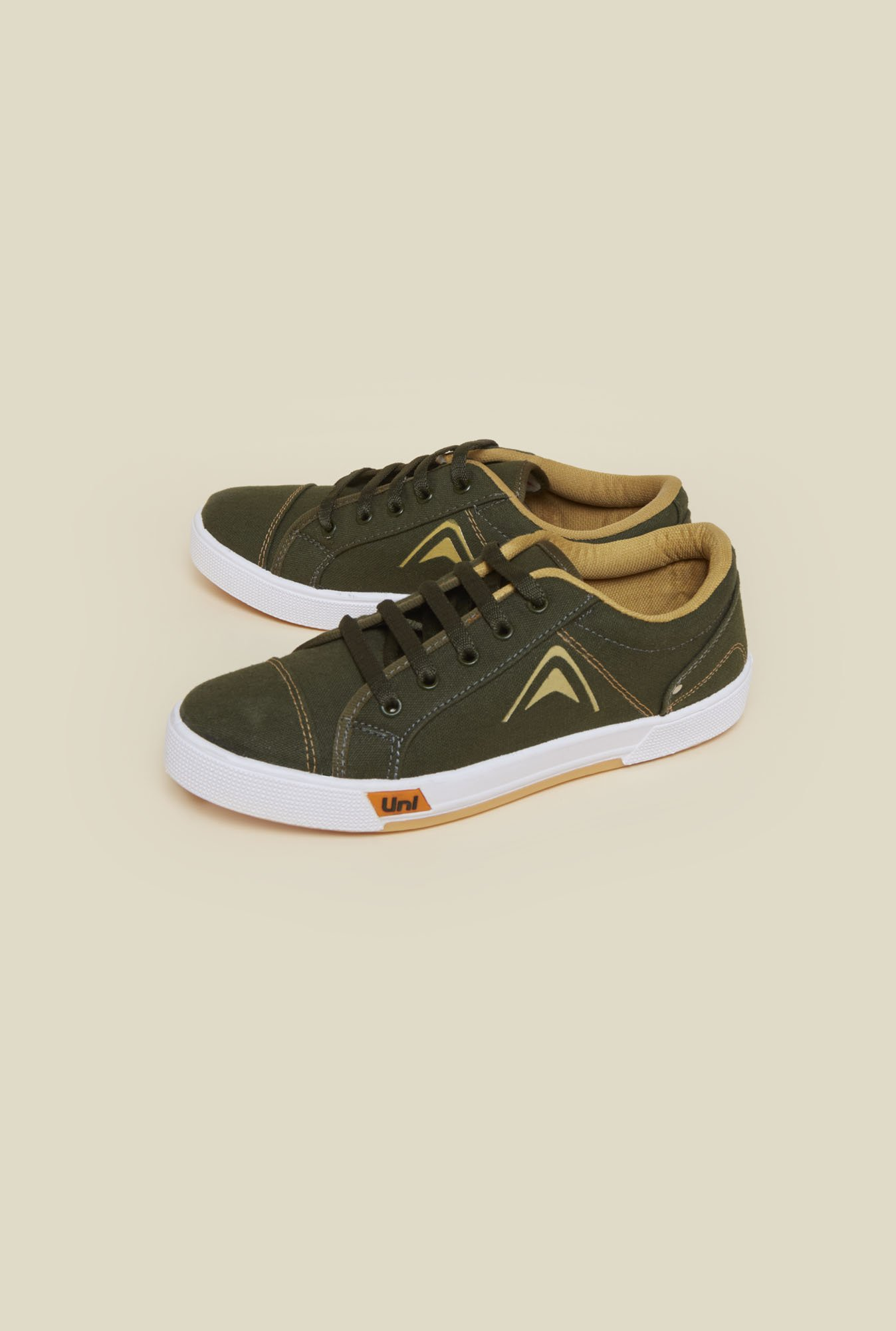 Zudio Olive Sneaker Shoes