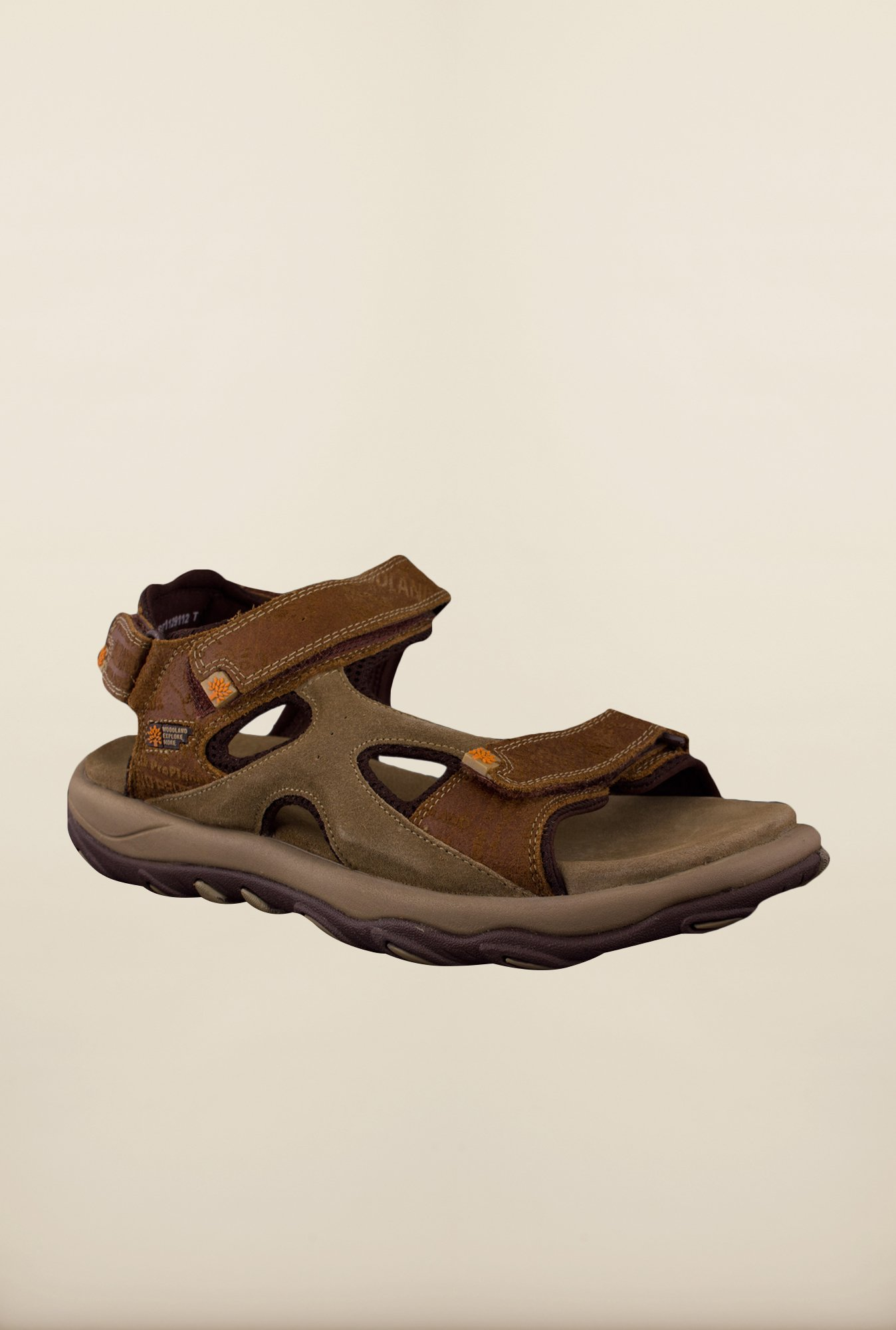 Woodland Brown Floater Sandals