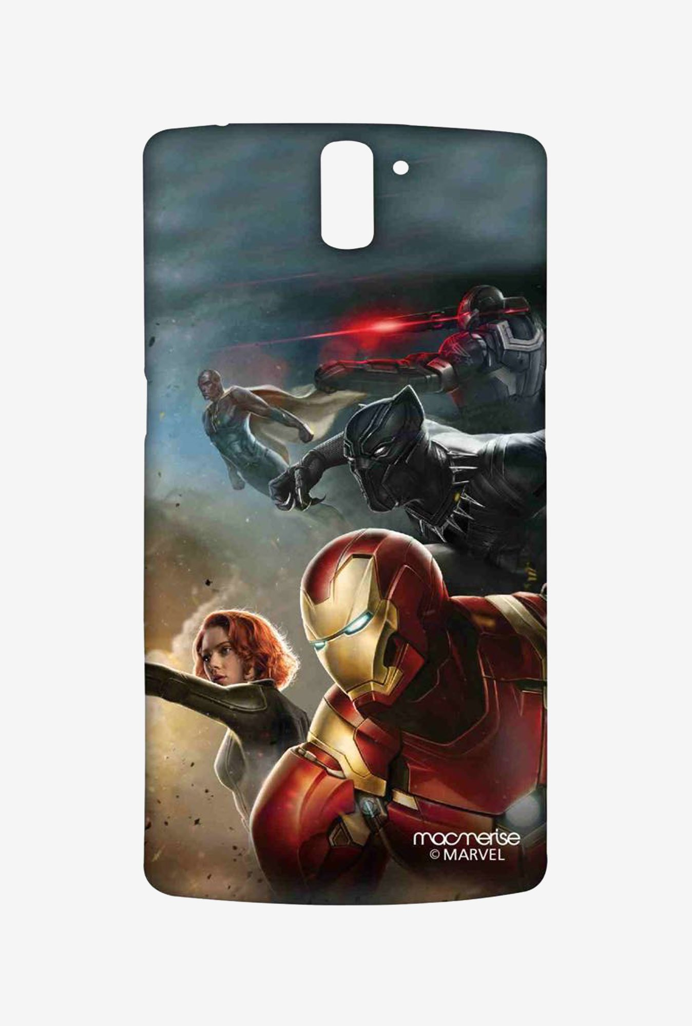 Macmerise Team Ironman Sublime Case for OnePlus One