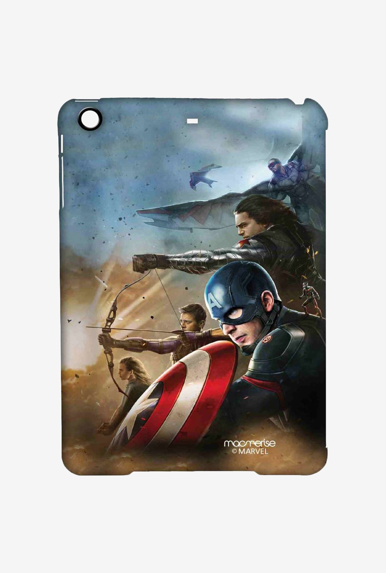 Macmerise Team Captain America Pro Case for iPad Mini 1/2/3