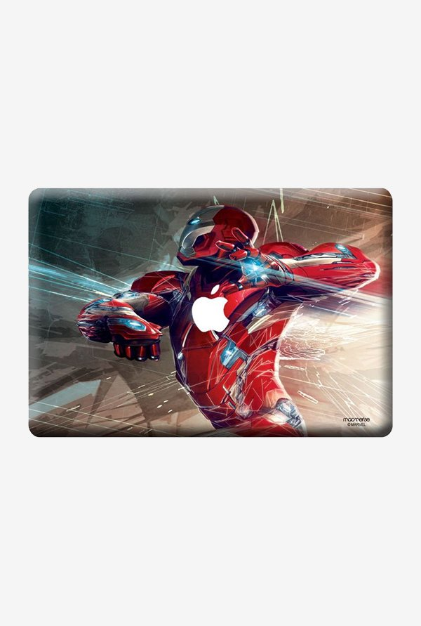 "Macmerise Ironman Attack Skin for 13"" MacBook White"