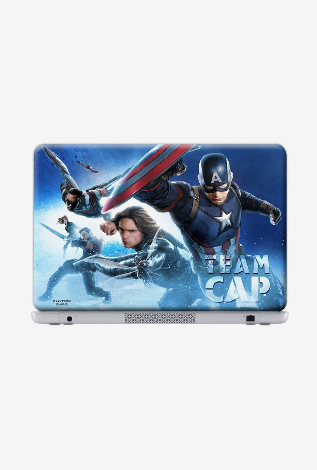 "Macmerise Team Cap Skin for 17"" Generic Laptops"