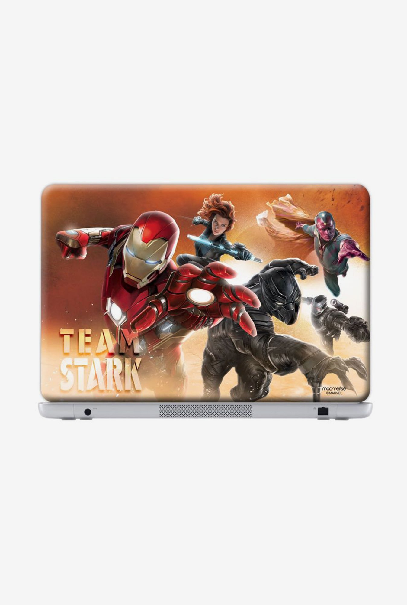 "Macmerise Team Stark Skin for 17"" Generic Laptops"