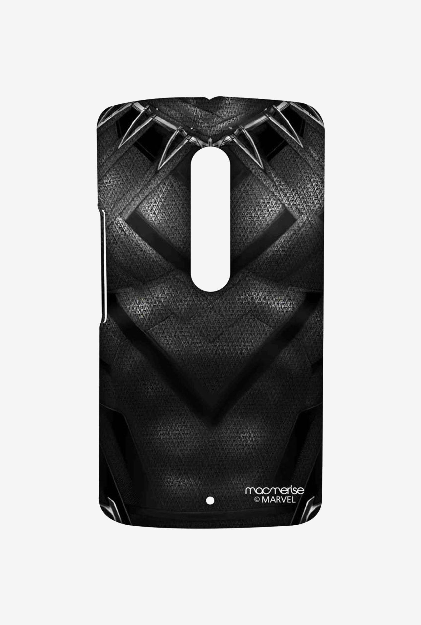 Macmerise Suit up Black Panther Sublime Case for Moto X Play