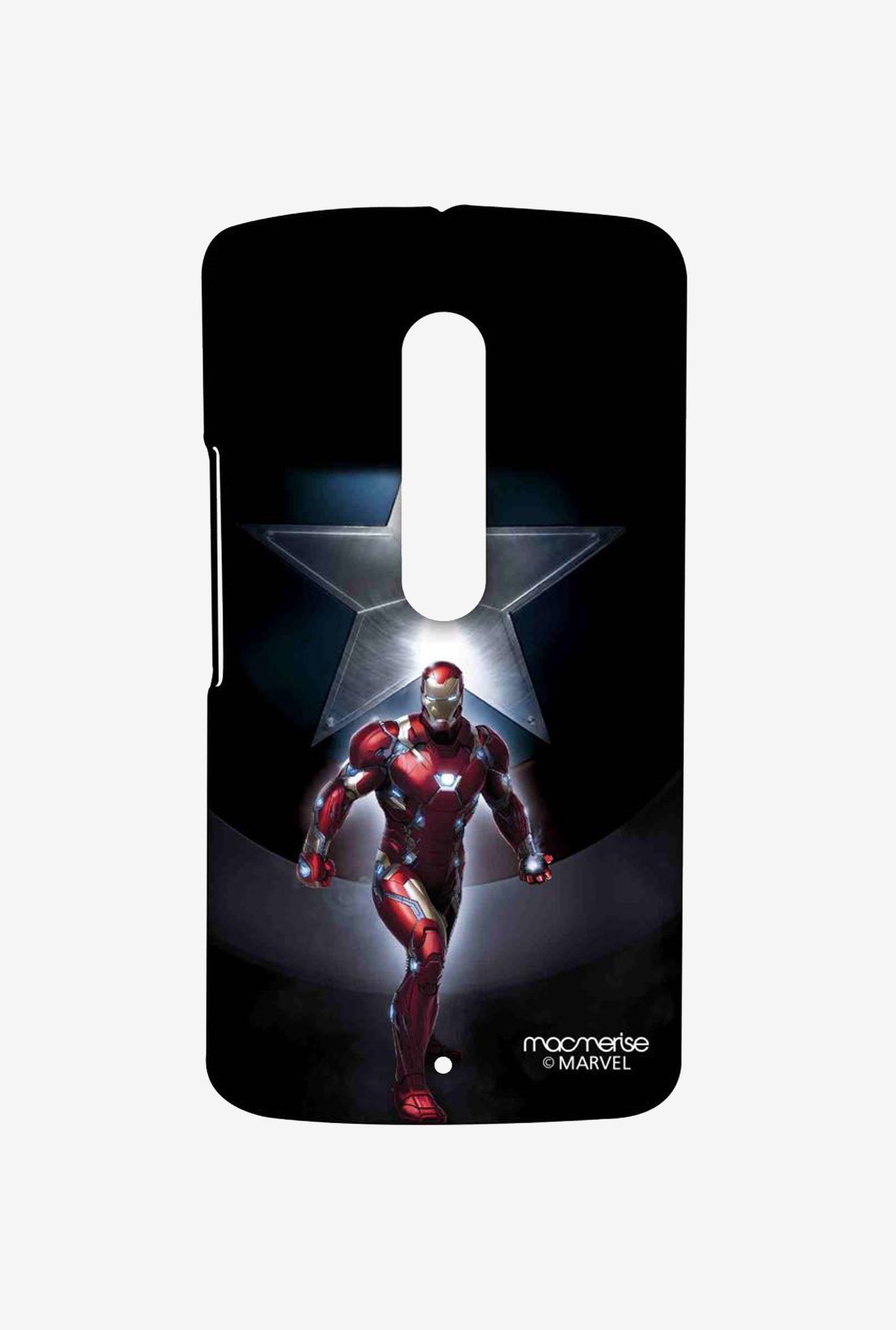 Macmerise Watchful Ironman Sublime Case for Moto X Play