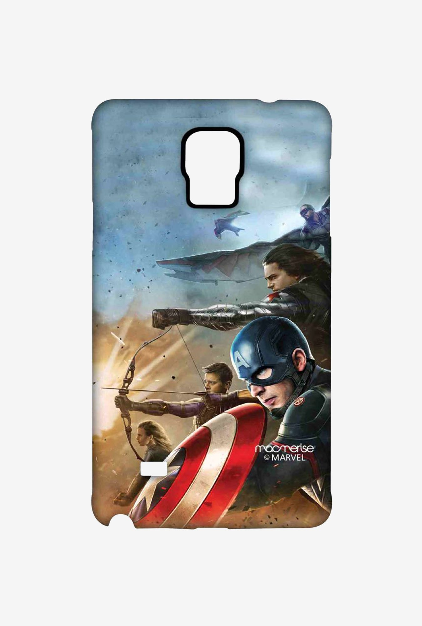 Macmerise Team Captain America Sublime Case for Note 4