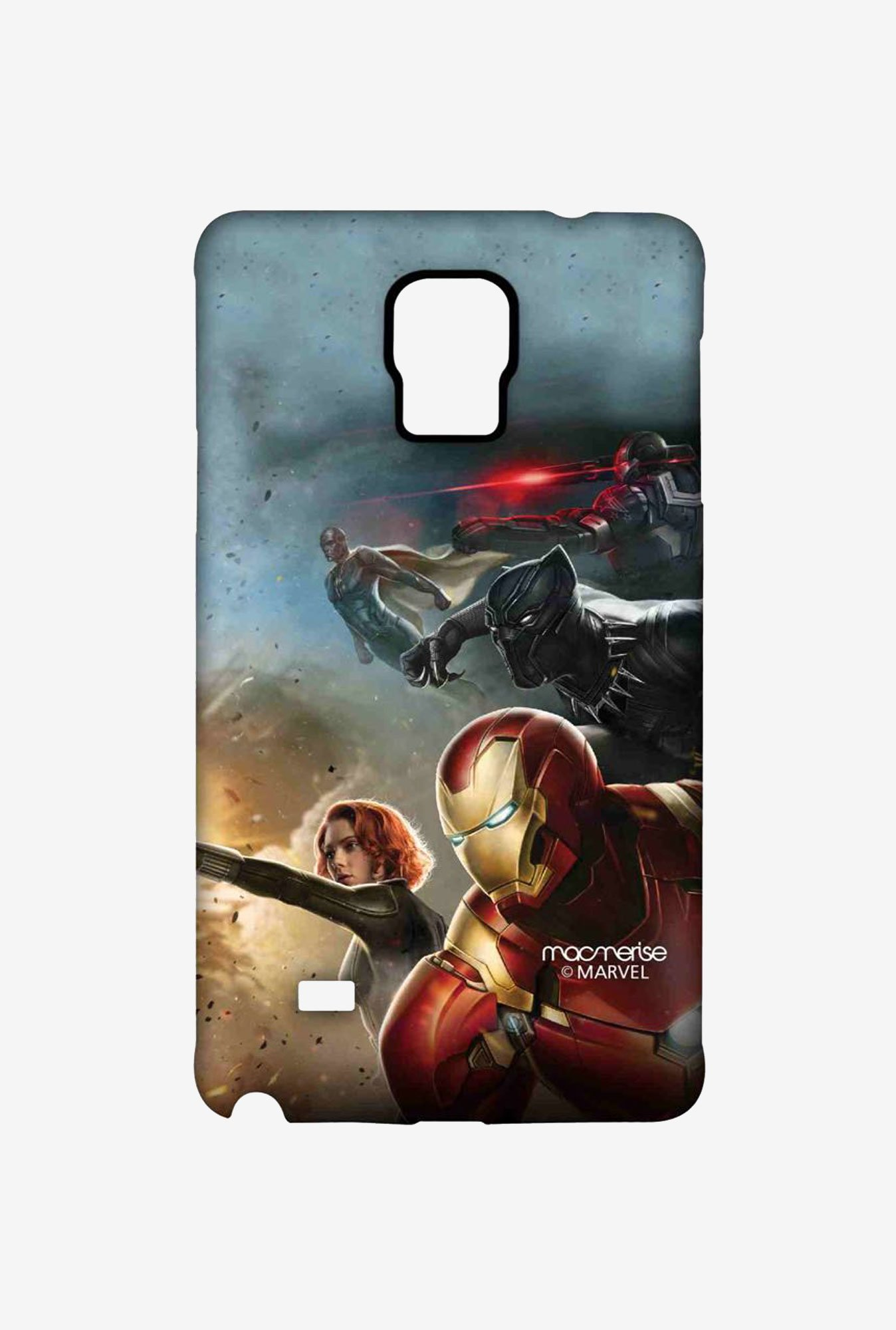 Macmerise Team Ironman Sublime Case for Samsung Note 4