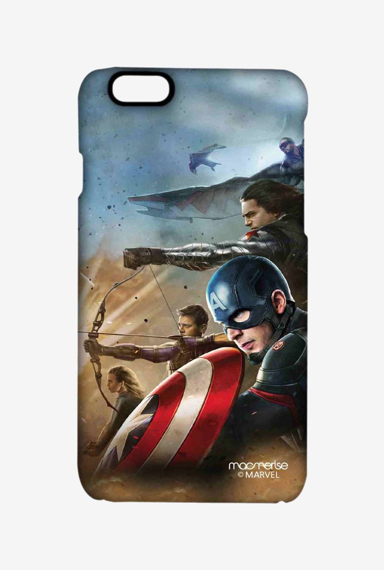 Macmerise Team Captain America Pro Case for iPhone 6S