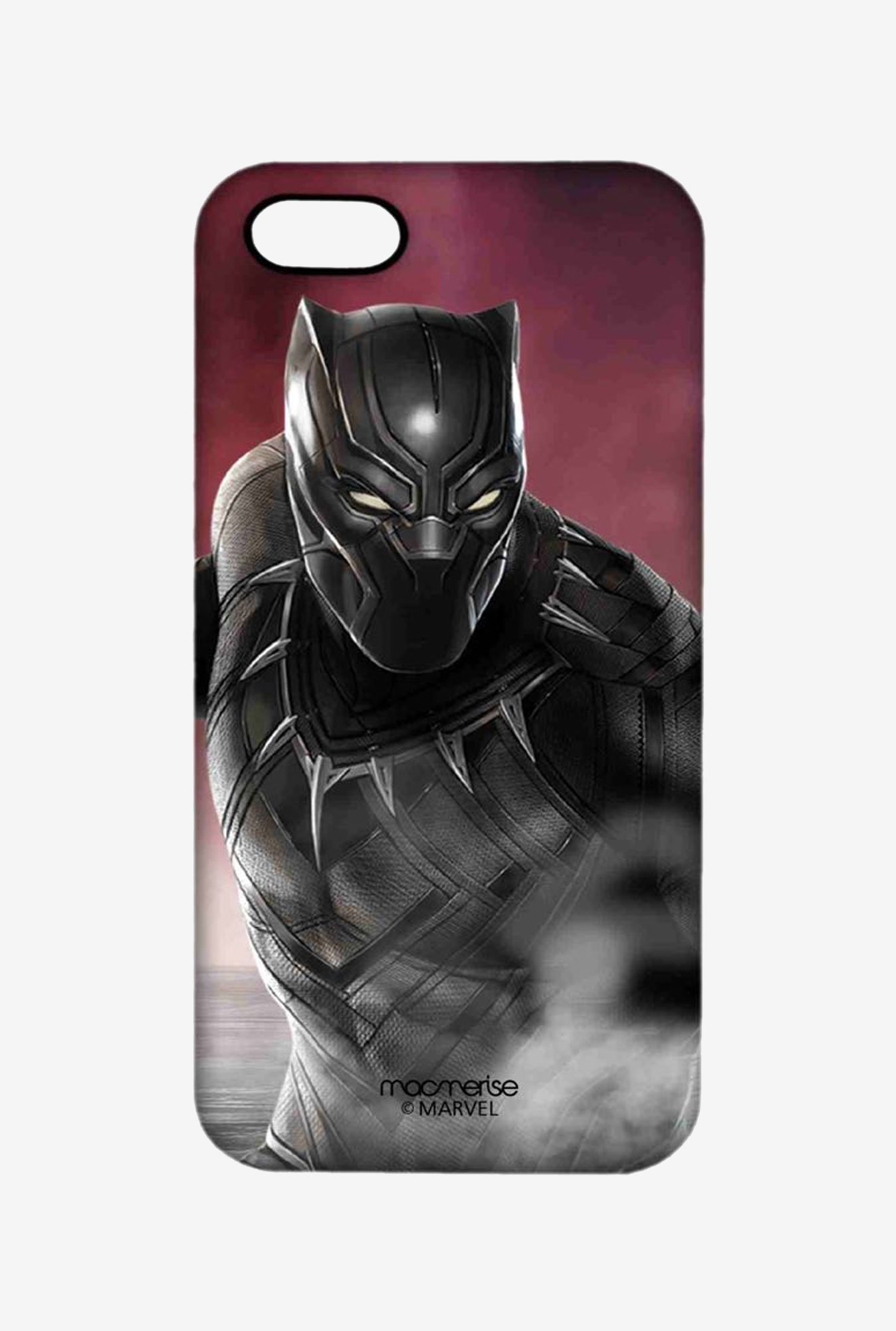 Macmerise Team Red Black Panther Pro Case for iPhone 5/5S