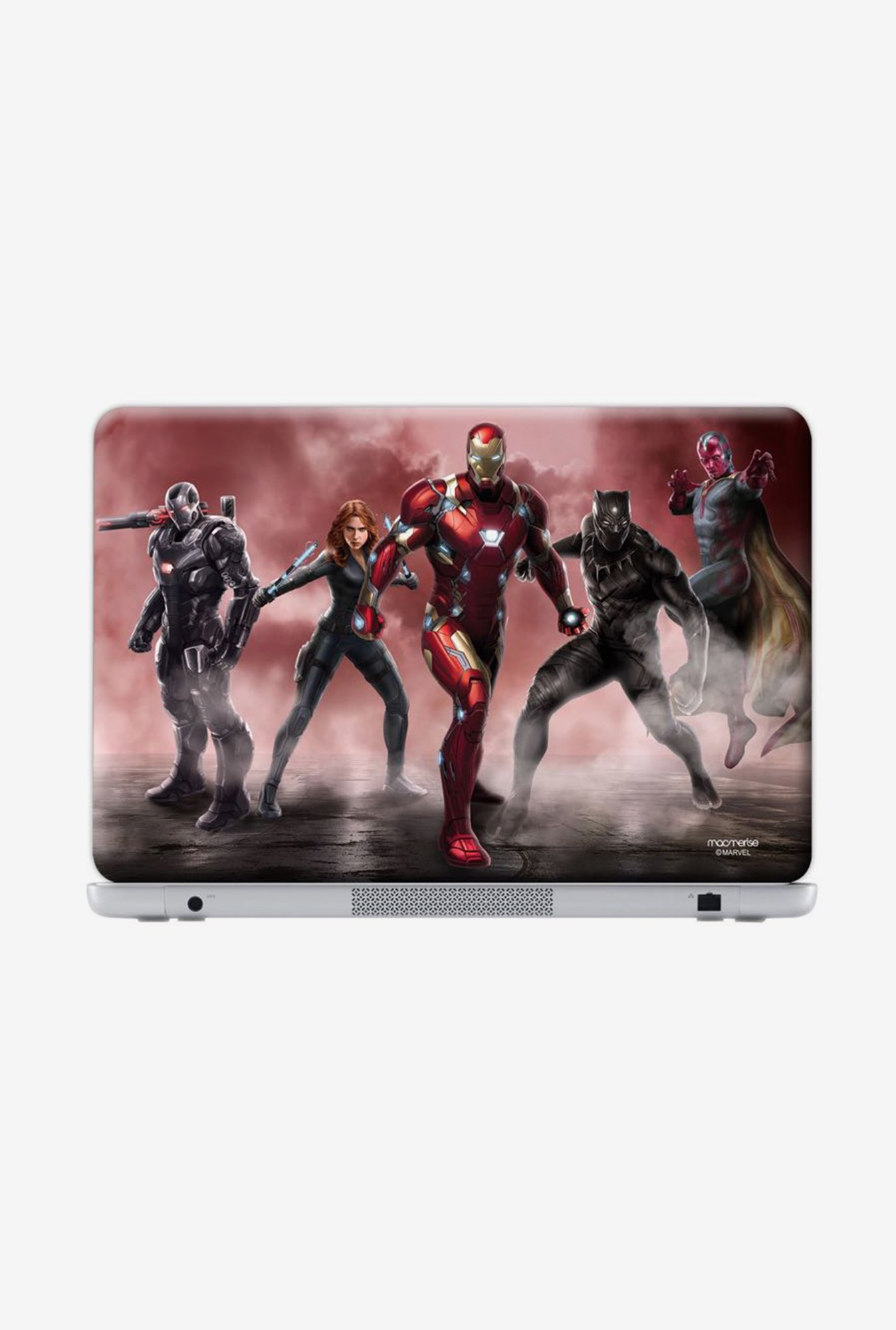 "Macmerise Team Red Stance Skin for 14"" Generic Laptops"