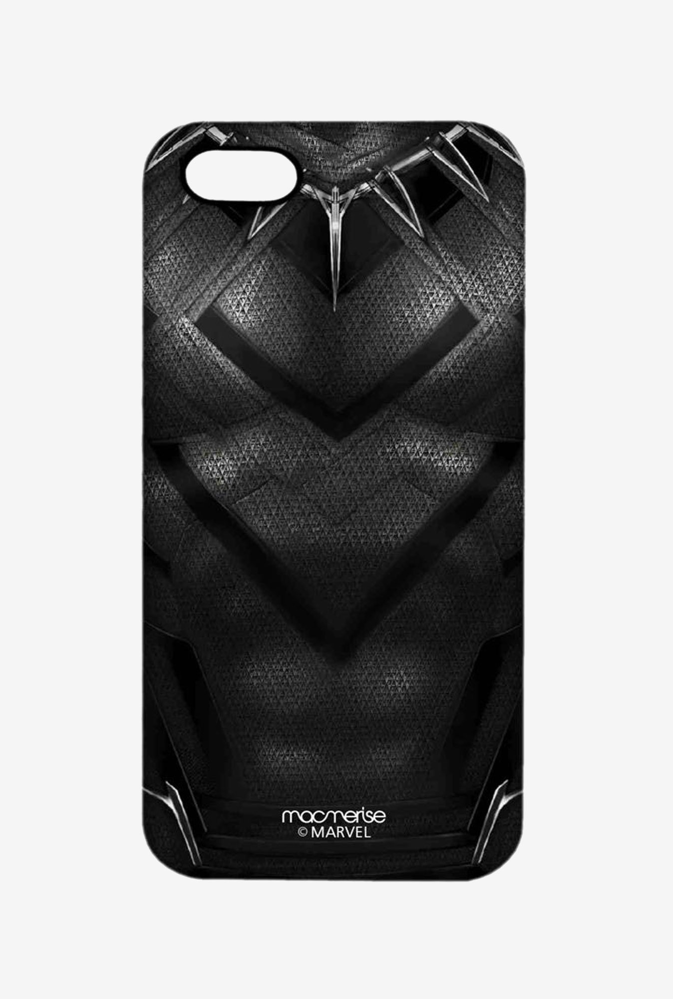 Macmerise Suit up Black Panther Pro Case for iPhone SE