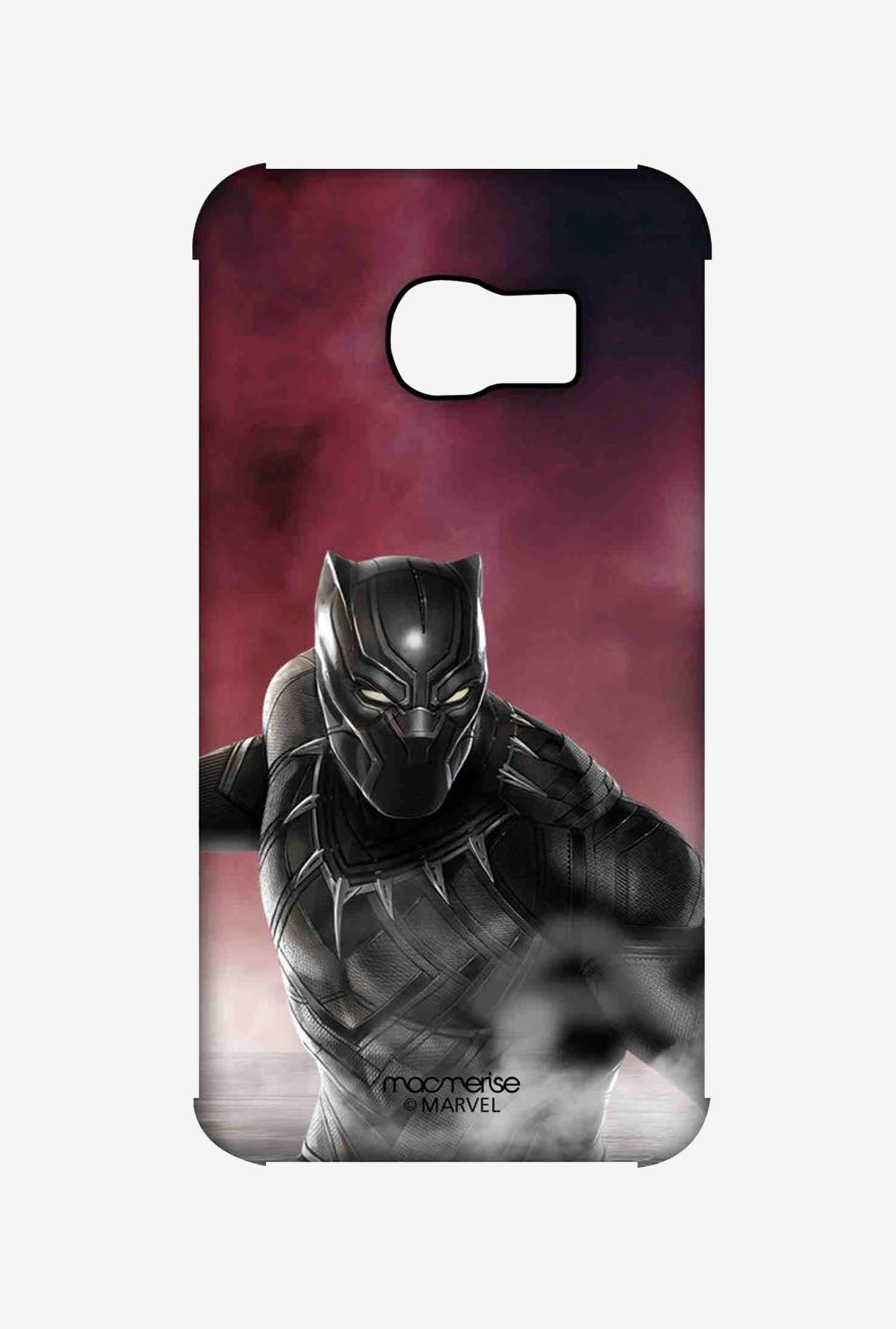 Macmerise Team Red Black Panther Pro Case for S6 Edge