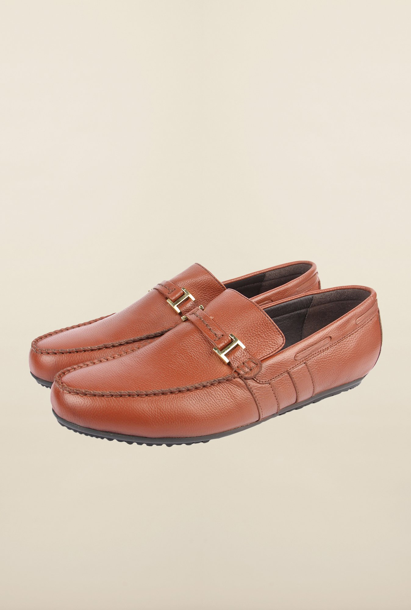 Cobblerz Brown Moccasin Shoes